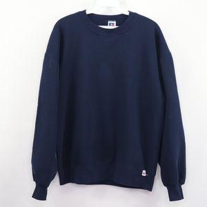 90s Russell Athletic Mens Large Blank Sweatshirt